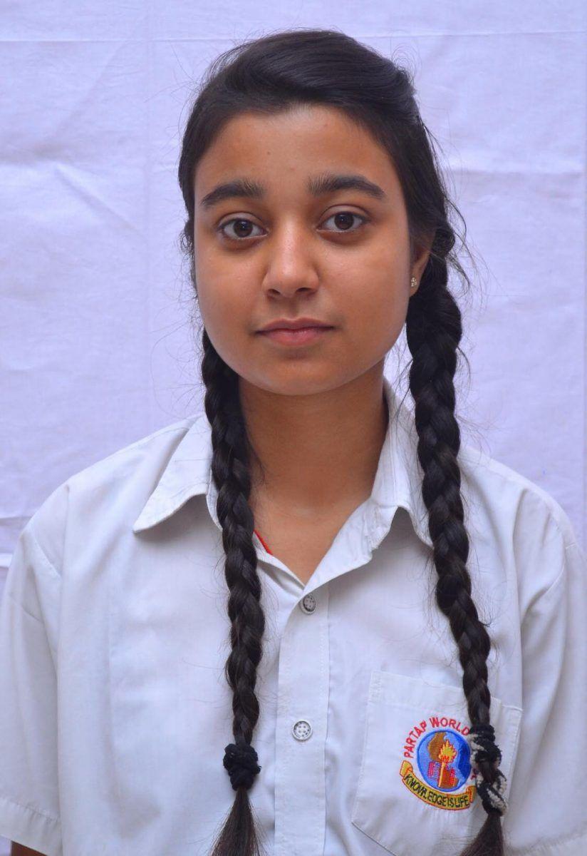 Anshika Sharma 74%